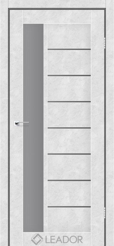 Lorenza Sincrolam бетон білий скло графіт