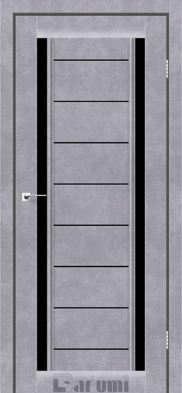 Двері міжкімнатні Darumi-Madrid сірий бетон blk