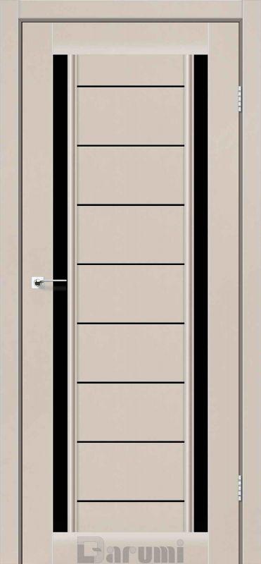Двері міжкімнатні Darumi-Madrid димчастий краст blk