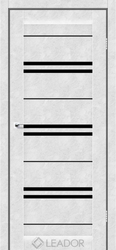 Malta Sincrolam бетон білий чорне скло