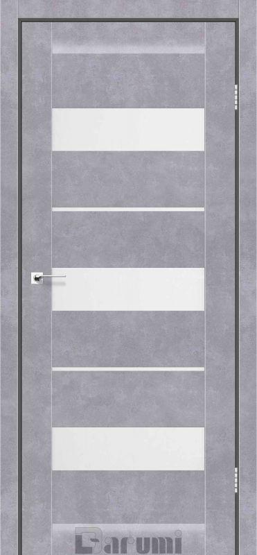 Двері міжкімнатні Darumi-Marsel сірий бетон