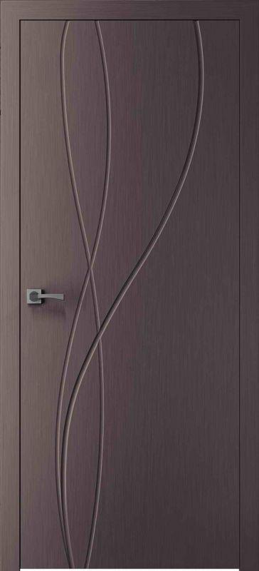 Дверне полотно Skyline Міді X мокко