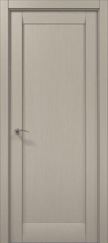 Дверне полотно Папа Карло Millenium 00F дуб кремовий брашованний