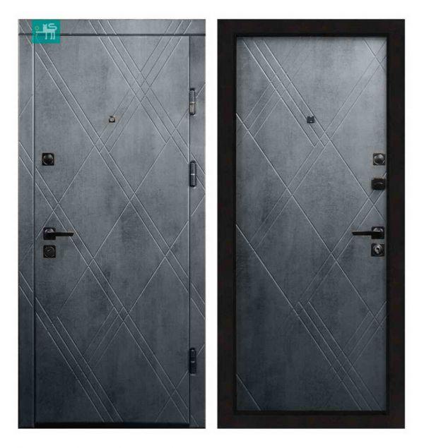 Двері вхідні  Міністерство дверей ПК-266+ Q Бетон темний