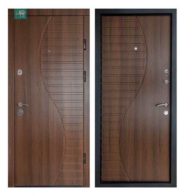 Двері вхідні  Міністерство дверей ПК-23+ Горіх білоцерківський