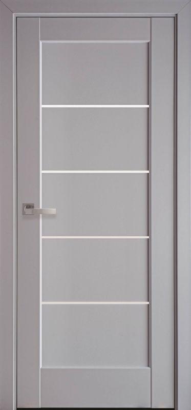 Дверне полотно Ностра Міра сіра пастель