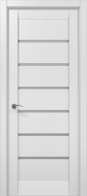 Дверне полотно Папа Карло Millenium 14 білий матовий