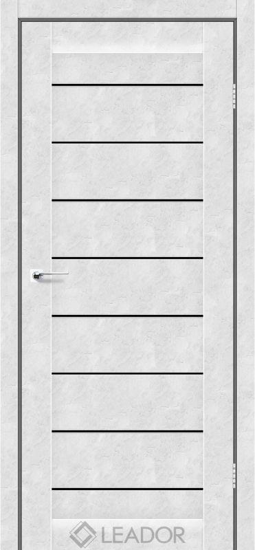 Neapol Sincrolam бетон білий чорне скло