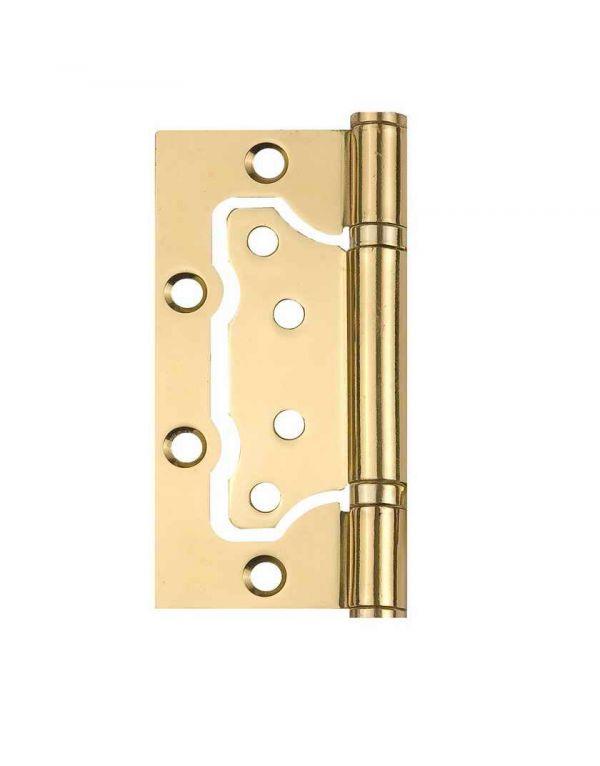 Завіса для дверей неврізна універсальна 2BB-100 BP полірована латунь