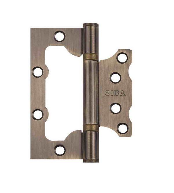 Завіса для дверей неврізна універсальна 2BB-100 AB антична бронза