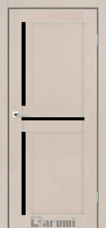 Двері міжкімнатні Darumi-Next димчастий краст blk