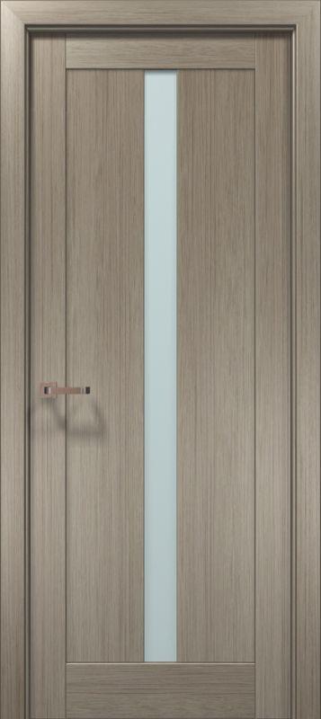 Дверне полотно Папа Карло Optima 01 клен сірий
