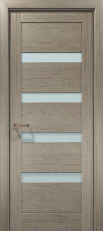 Дверне полотно Папа Карло Optima 02 клен сірий