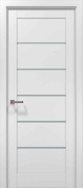 Дверне полотно Папа Карло Optima 04 сніжно білий