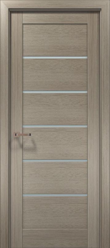 Дверне полотно Папа Карло Optima 04 клен сірий