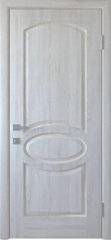 Дверне полотно Фортіс Овал ПГ ясень new
