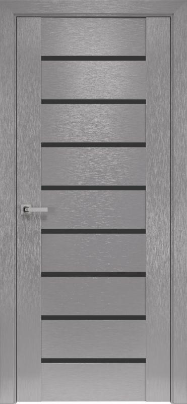 Дверне полотно Орні-X Парма blk х-хром