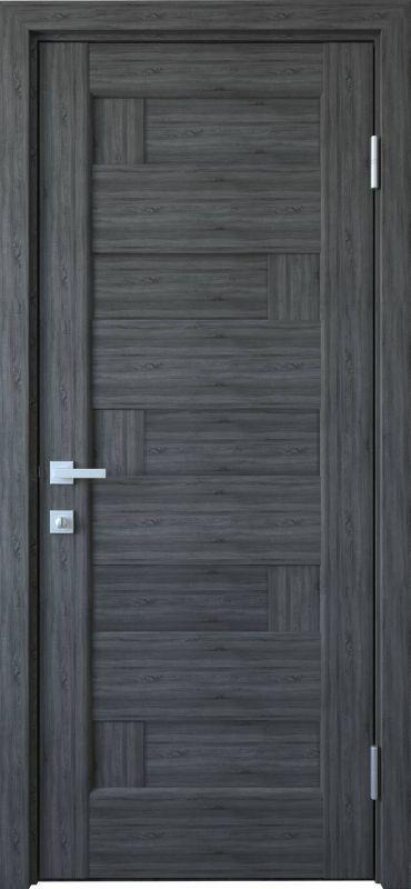 Дверне полотно Ностра Піана ПГ грей new