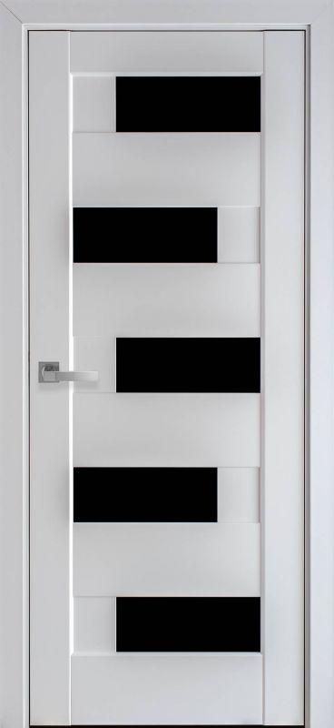 Піана ПП Преміум білий матовий чорне скло