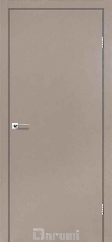 Двері міжкімнатні Darumi-Plato сірий краст