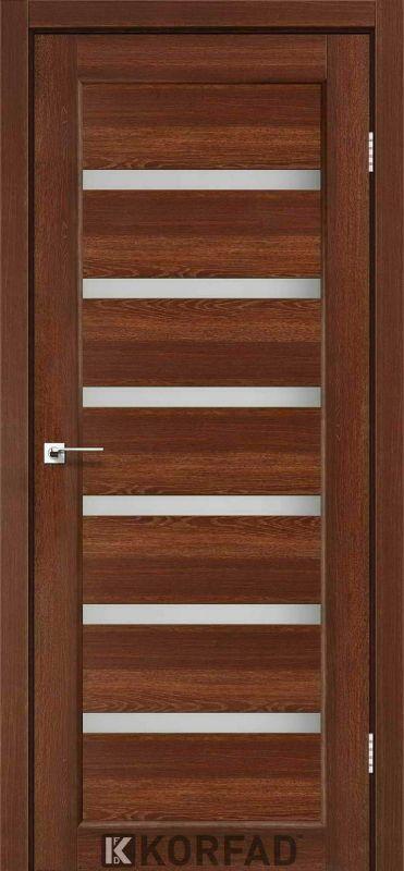 Дверне полотно Korfad Porto PR-01 горіх