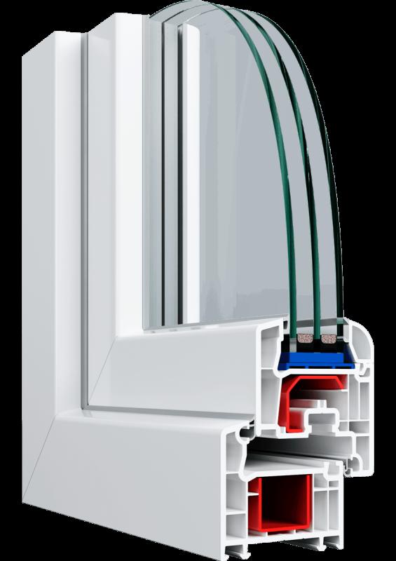 Вікно Veka Proline 800*1300 мм.