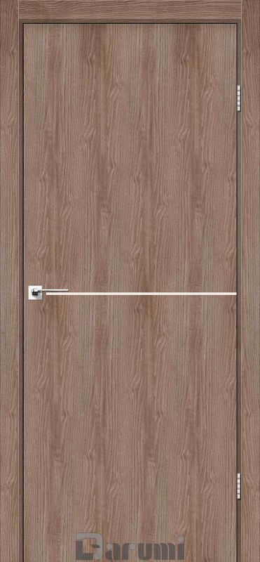 Двері міжкімнатні Darumi-Plato PTL-03 горіх бургун