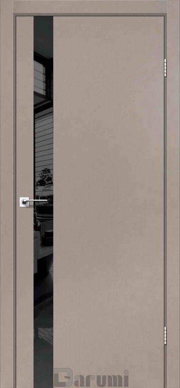 Двері міжкімнатні Darumi-Plato PTL-04 сірий краст