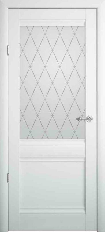 Дверне полотно Albero Rome Vinil білий