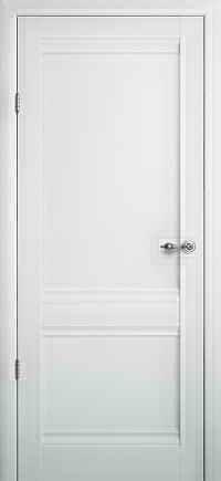 Дверне полотно Albero Rome ПГ Vinil білий