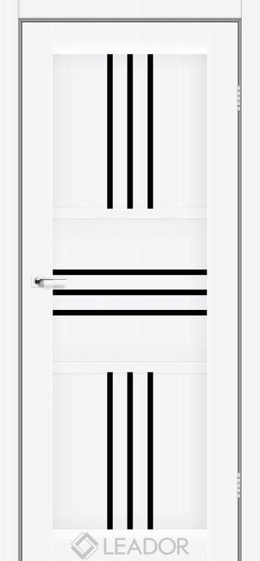 Rona Sincrolam білий матовий чорне скло