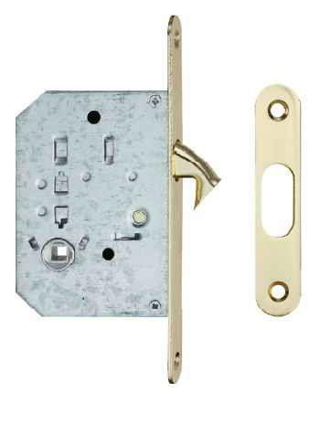 Ручки для розсувних дверей, комплект WC S223 полірована латунь