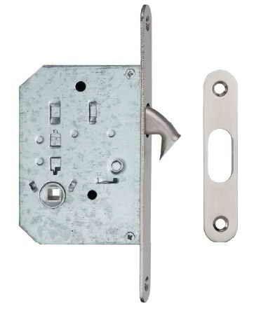 Ручки для розсувних дверей, комплект WC S223 нікель матовий