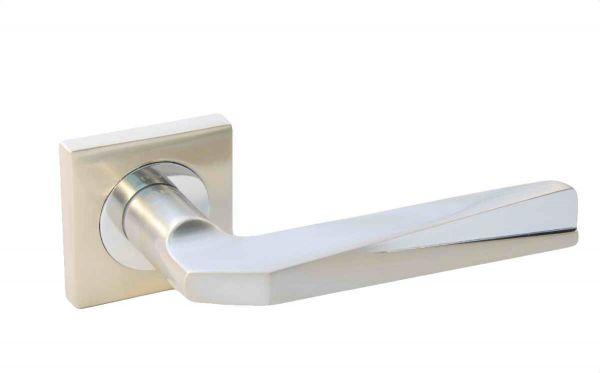 Ручка Siba Z46 Saturn нікель матовий/хром