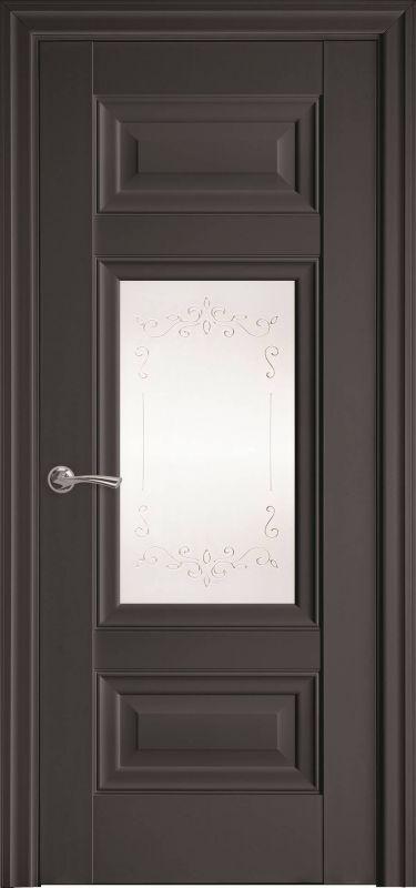 Дверне полотно Елегант Шарм Р2 антрацит