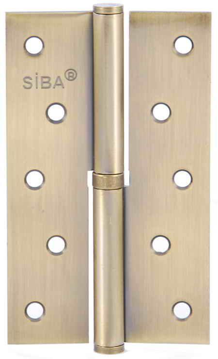 Завіса для дверей з'ємна ліва 1BB-125 L BP полірована латунь