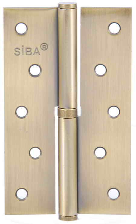 Завіса для дверей з'ємна ліва 1BB-125 L AB антична бронза