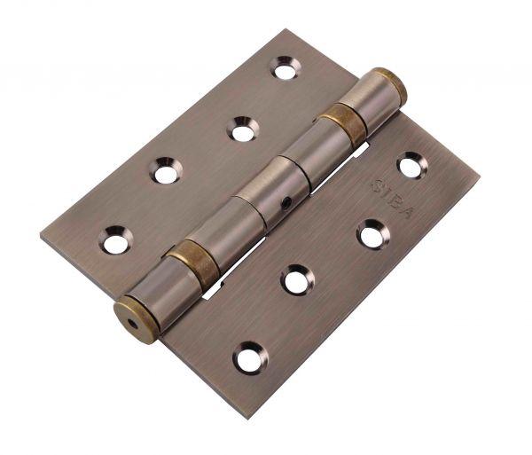 Завіса для дверей універсальна посилена 2BB-100 AB антична бронза