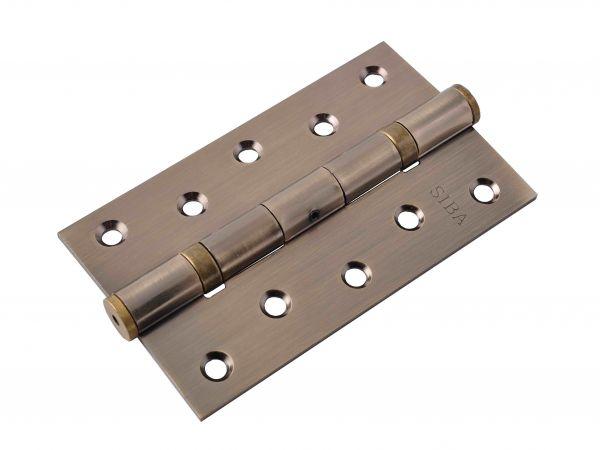 Завіса для дверей універсальна посилена 2BB-125 AB антична бронза