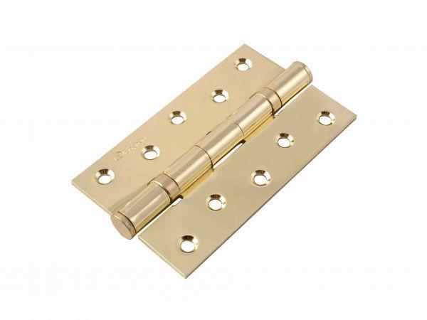 Завіса для дверей універсальна посилена 2BB-125 BP полірована латунь