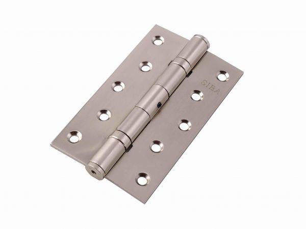 Завіса для дверей універсальна посилена 2BB-100 SN матовий нікель