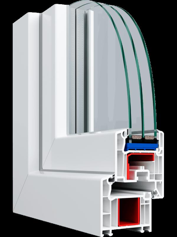 Балконний блок Veka Proline 2000*2100 мм.