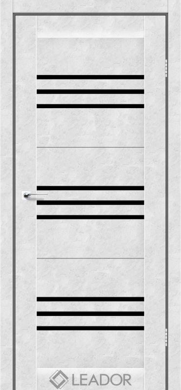 Sovana Sincrolam бетон білий чорне скло