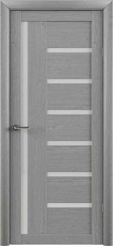 Дверне полотно  Albero Bianca (T3) ясен димчастий