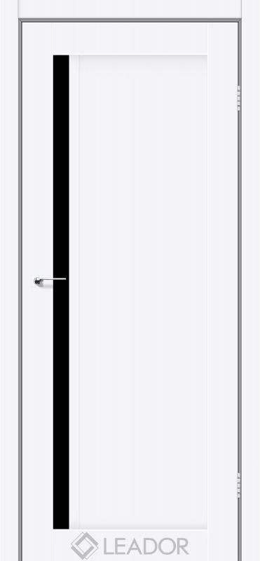 Toskana Sincrolam білий матовий чорне скло