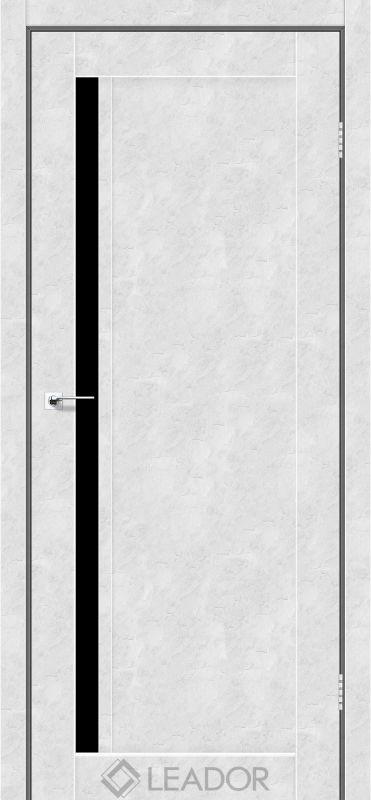 Toskana Sincrolam бетон білий чорне скло