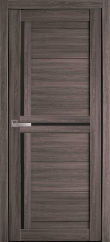 Дверне полотно Мода Трініті blk дуб атлант