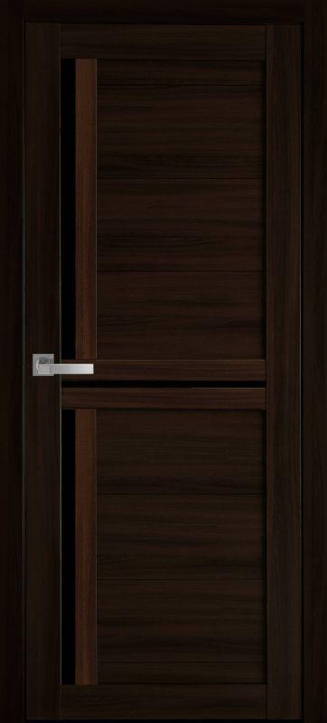 Дверне полотно Мода Трініті blk венге браун
