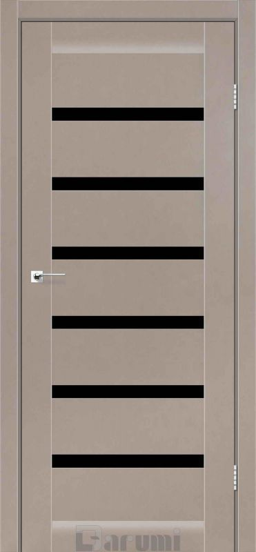 Двері міжкімнатні Darumi-Vela сірий краст blk