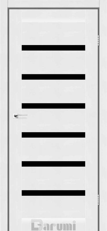 Двері міжкімнатні Darumi-Vela білий текстурний blk